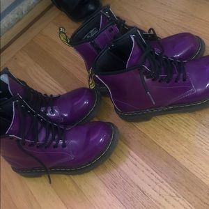 Purple Doc Martens (separate/together) $30each